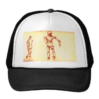 Sepia Figures Mesh Hat