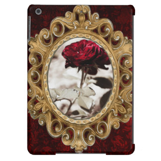 Sepia Flower,Red Rose Photograph iPad Air Cases