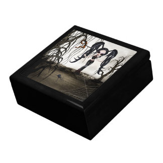 Sepia Goth Girl Gift Boxes