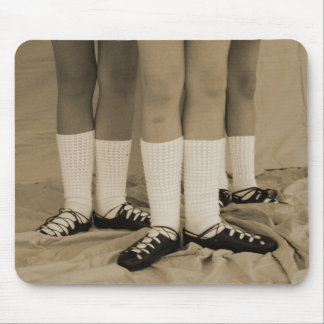 Sepia Irish Dance Soft Shoes Mousepad