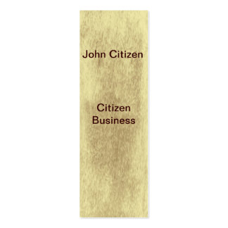 Sepia leather look texture business cards