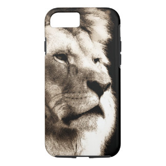 Sepia Lion iPhone 8/7 Case