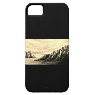 Sepia luminosity by Jane Howarth iPhone 5 Case