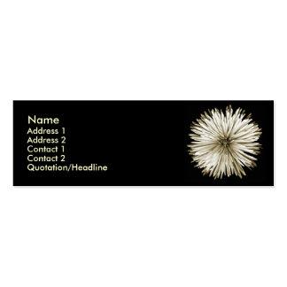Sepia Mum Profile Card Mini Business Card