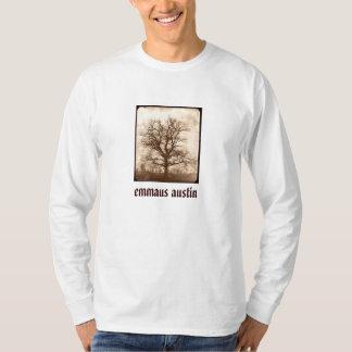 Sepia Oak Tree - Restore on back T-Shirt