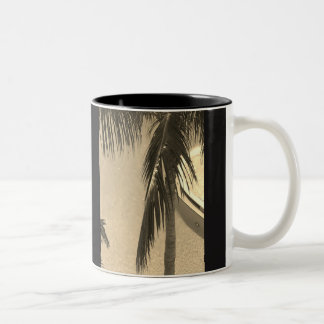 Sepia Palm Coffee Mug
