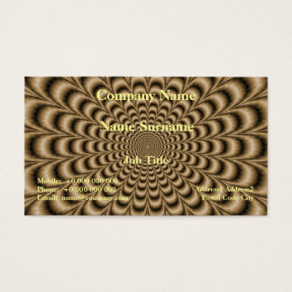 Sepia Pulse Business Card