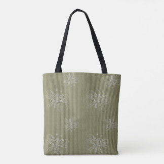 Sepia retro pattern with butterflies tote bag