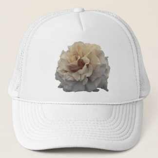 sepia rose trucker hat