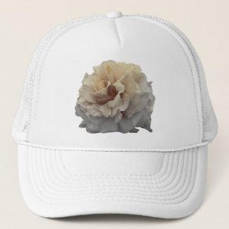 sepia rose trucker hat