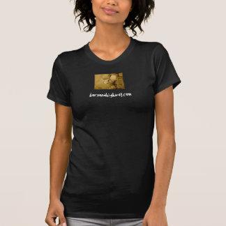 sepia skull, bornonahighway.com T-Shirt
