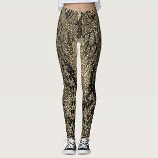 Sepia Snake skin style legging. Leggings