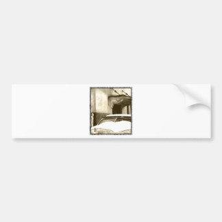 Sepia Snow Bumper Sticker
