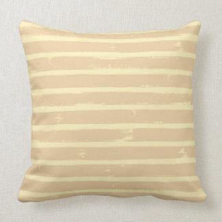 Sepia Stripe Accent Pillow