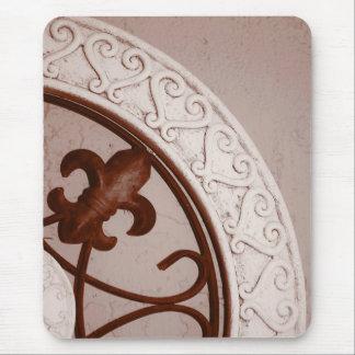 Sepia-tone Medallion mousepad