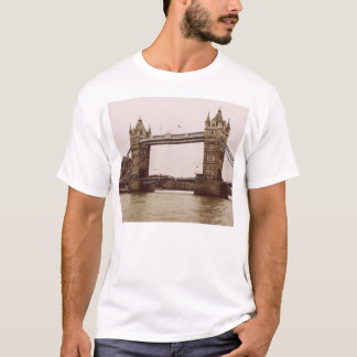 Sepia Tower Bridge, London, United Kingdom T-Shirt
