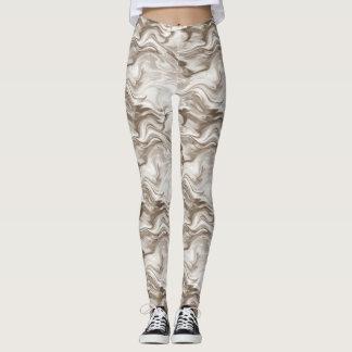 Sepia Watercolor Leggings