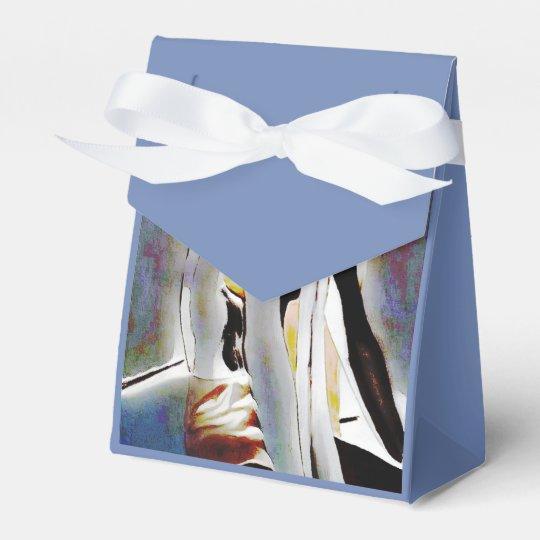 Sepia Wedding Favor Box