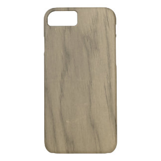 Sepia Wood Grain Pattern iPhone 8/7 Case