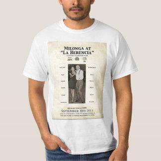 sept 9/30/11 milonga T-Shirt