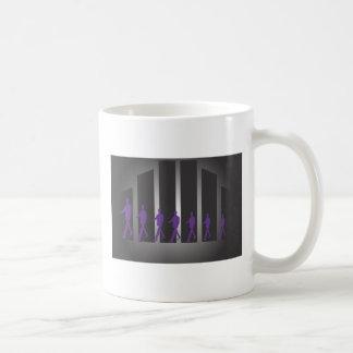 Sept hommes d'affaires tasse à café