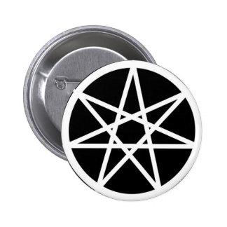 Septagram 2 Inch Round Button