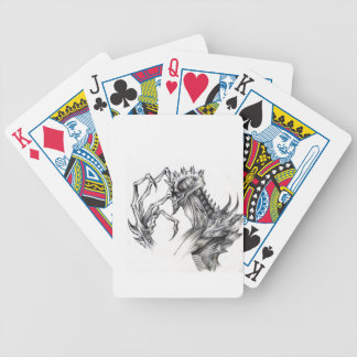 Septar - Evil Monster - Black & White Pen Sketch Poker Deck