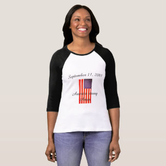 September 11, 2001 ladies t-shirt