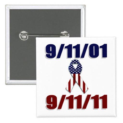 September 11, 2001 Ten Year Anniversary Pins