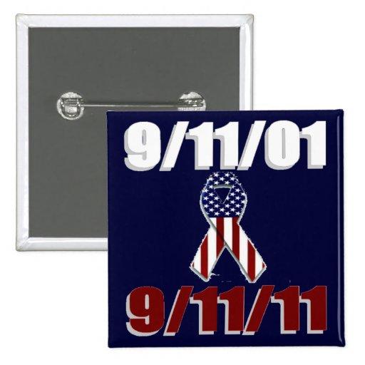 September 11, 2001 Ten Year Anniversary Pin
