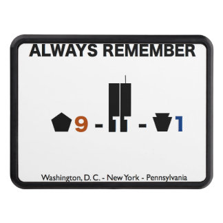 September 11 Remembrance Trailer Hitch Cover