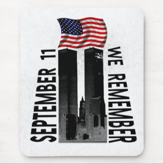 September 11th We Remember Memorial Tribute Mouse Pad