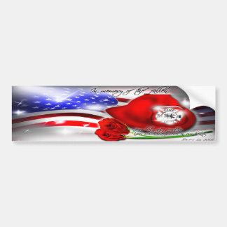 September 9/11 Memorial Bumper Sticker