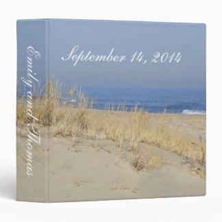 September Beach ~ Binder