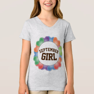 SEPTEMBER BIRTHDAY GIRL T-shirts