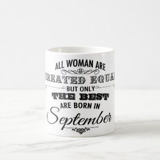 September Birthday Mug