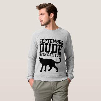 SEPTEMBER BIRTHDAY T-shirts for Men, CAT LOVER