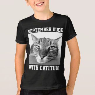 SEPTEMBER BIRTHDAY T-shirts & hoodies for guy, Cat