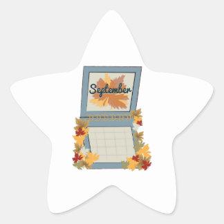 September Calendar Stickers