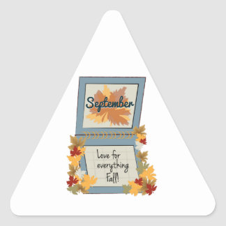 September Fall Stickers