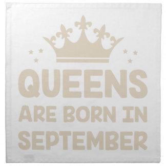 September Queen Napkin