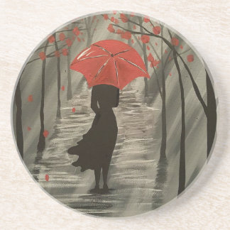 September Rain Drink Coaster
