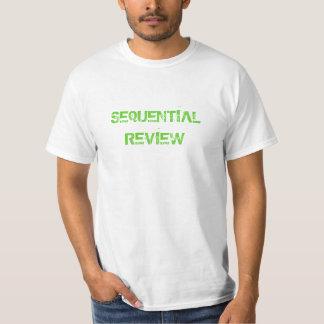 Sequential Review #1 T-Shirt