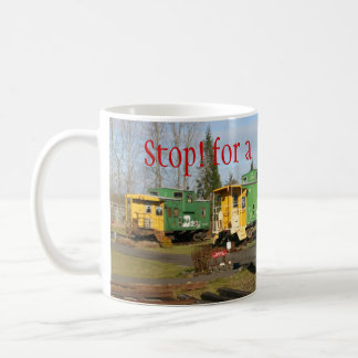 Sequim caboose coffee cup