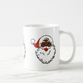 sequin African santa claus Coffee Mug