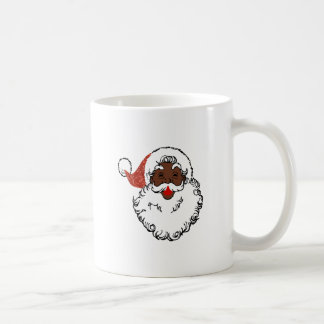 sequin African santa claus Coffee Mug