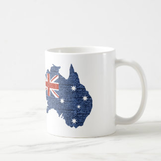 sequin australian flag coffee mug
