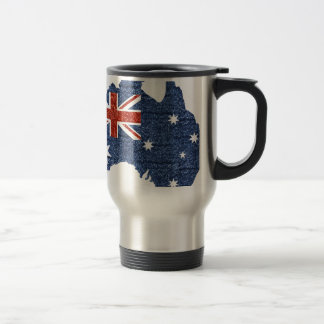 sequin australian flag travel mug