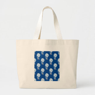 sequin bernie sanders large tote bag