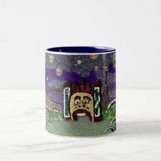 Sequin Dreams Luna Park mug